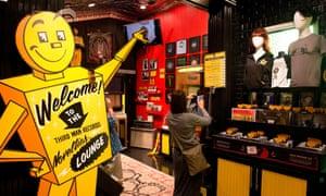 Third Man Records, Jack White's vinyl store in Nashville's Pie Town.