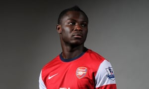 Emmanuel Frimpong, pictured during his Arsenal playing career, announced his retirement last month at the age of 27.