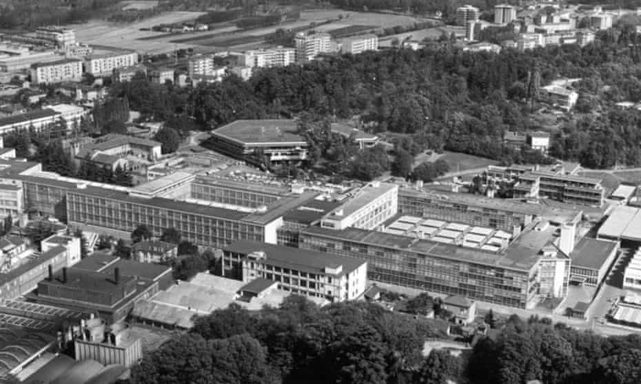 In Ivrea, north-west Italy, Olivetti sought 'harmony between private and public life, between work and the home'.