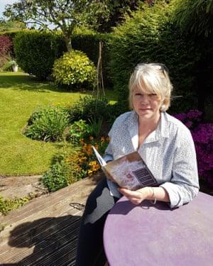 Tina Jefferies in her garden