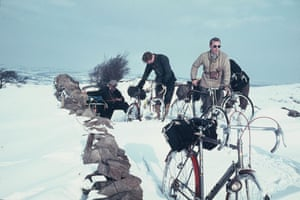 Deep snow on Grindleton Fell in February 1963