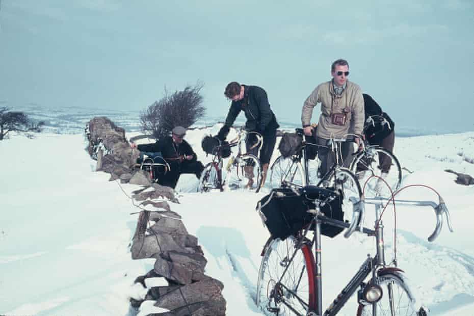 Deep snow on Grindleton Fell in February 1963