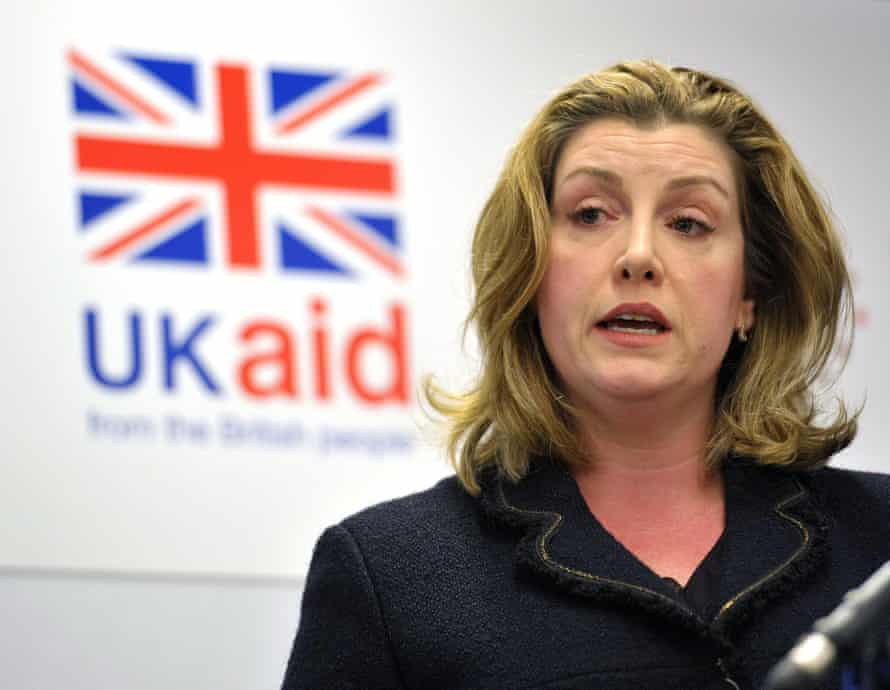 Penny Mordaunt, International Development Secretary