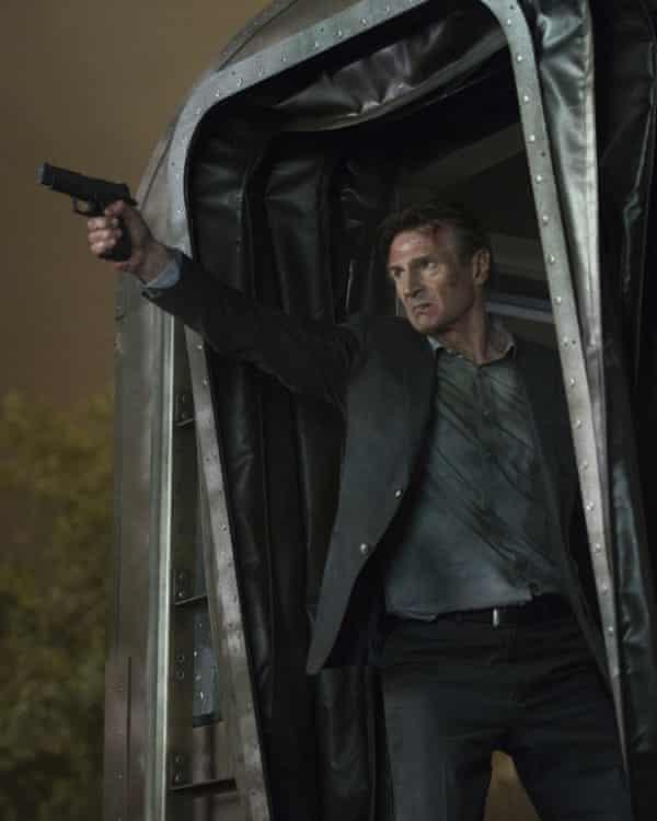 Liam Neeson in The Commuter.