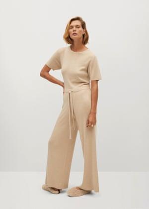 Long knit jumpsuit, £59.99, mango.com