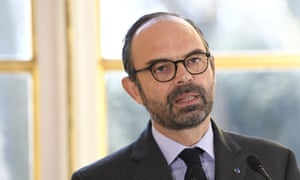 The french prime minister, Édouard Philippe