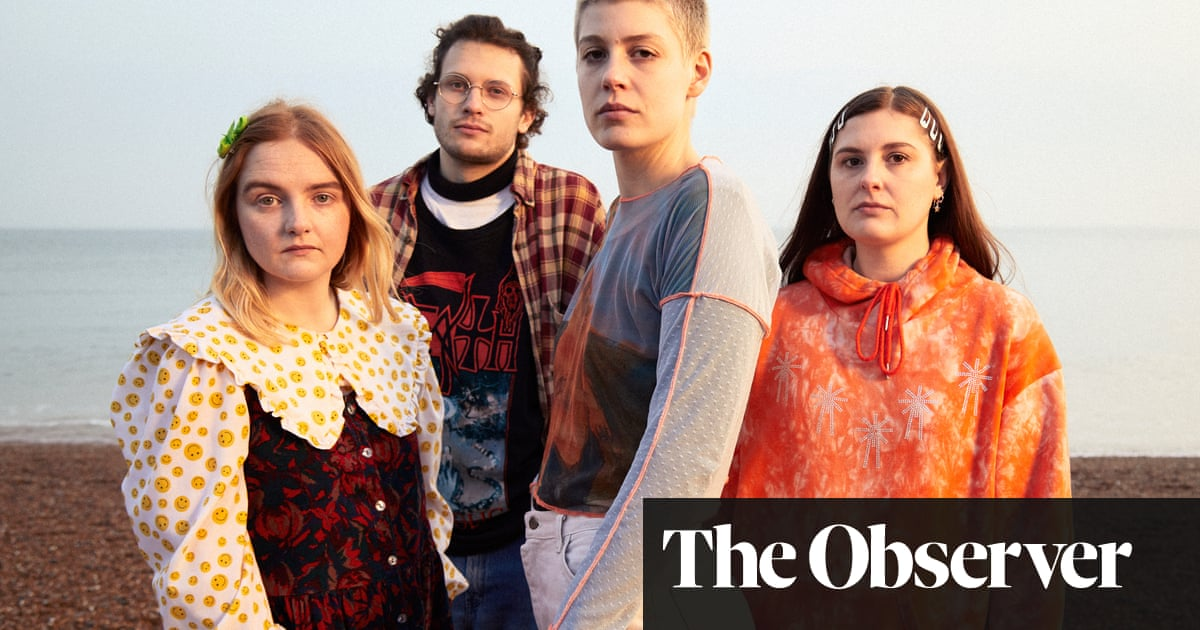 Lockdown one year on: Porridge Radio on how Covid stole their moment