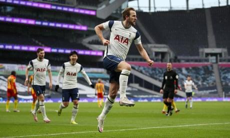 Tottenham 'depend on' Harry Kane, says José Mourinho – video