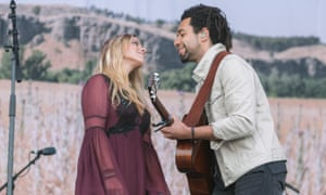 The Shires: Crissie Rhodes and Ben Earle.
