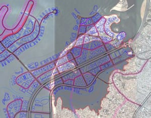 Plan for the redevelopment of Areia Branca, commissioned by Urbinveste