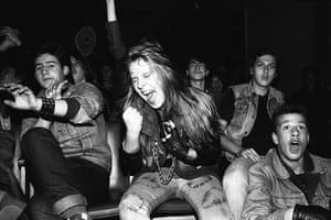 Rock fans in the USSR