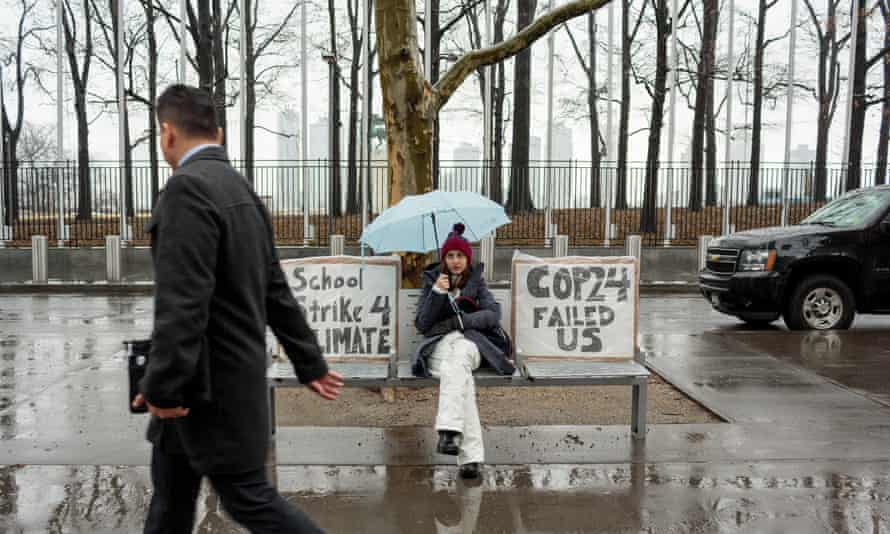 Alexandria Villasenor is a 13-year-old climate activist who has been striking in front of the UN building for nine weeks, and is organising a global school strike for climate on March 15