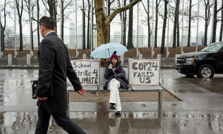 """""""My generation knows that climate change will be the biggest problem we'll have to face,"""" said student climate activist Alexandria Villasenor."""