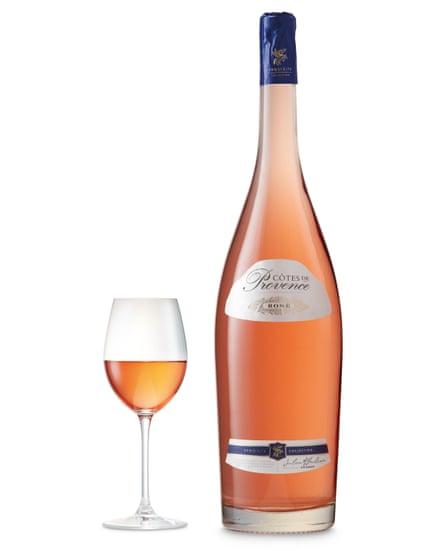 Aldi Côtes De Provence Magnum.
