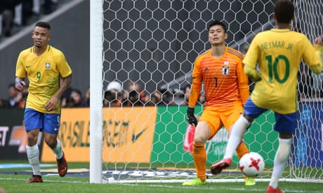 Brazil easily polish off Japan before lunchtime in Lille