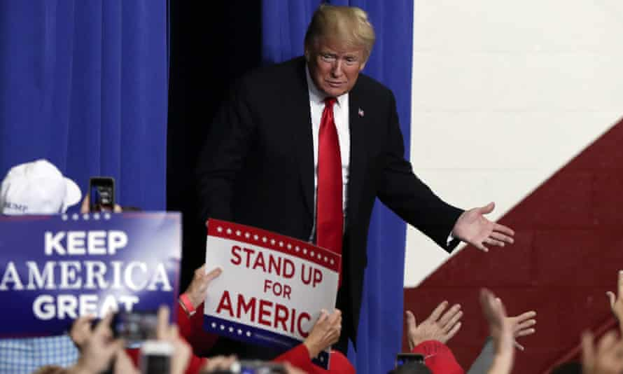 'Trump is the most polarizing president in the modern history of the United States. He has inspired a fervent following and an equally passionate opposition.'
