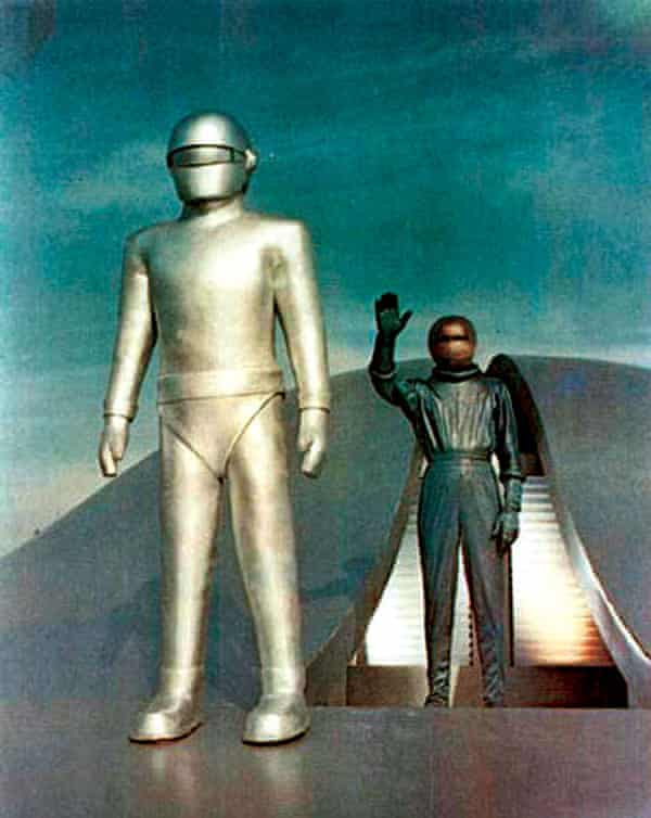 A still from The Day the Earth Stood Still
