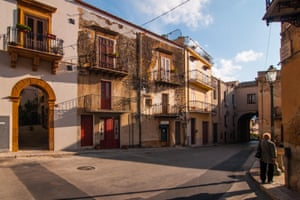 A street in Sambuca, Sicily