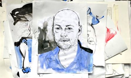 'First drafts come quickly to me' … John Boyne.