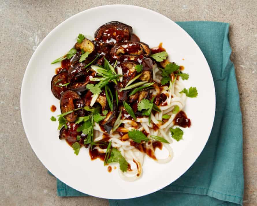 Sichuan aubergines