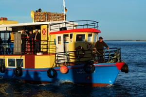 A ferry sails between the city of Olhão on the mainland and the villages of Culatra and Farol on Culatra island. The journey takes around 45 minutes travelling across the heart of the wetlands