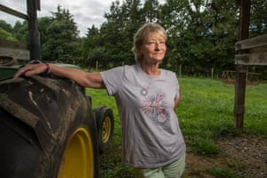 Joyce Yarber manages a cattle ranch and hay farm with her husband
