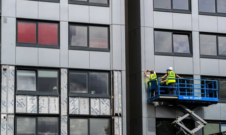 The Guardian view on the cladding scandal: rip off panels, not people | Editorial