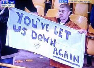 That ITV Sport branding.
