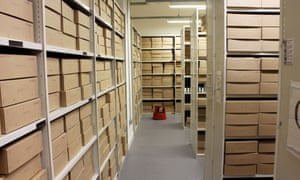 GNM Archive stores at Kings Place
