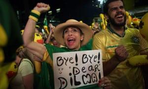 Brazilian protesters