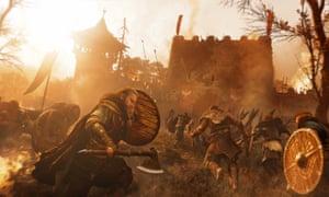 The heat of battle … Assassin's Creed Valhalla.