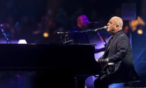 Billy Joel … On stage at Madison Square Garden on Monday.