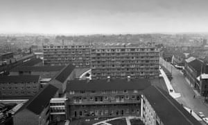 Wolverhampton, Brickklin Street flats, 1961