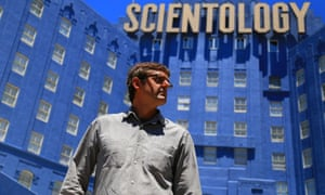 Cult film: My Scientology Movie is Theroux's first theatrical feature-length work.
