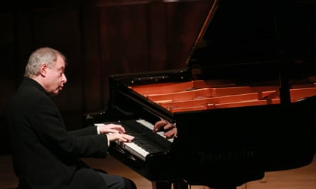 Andras Schiff performing at the Wigmore Hall in 2016