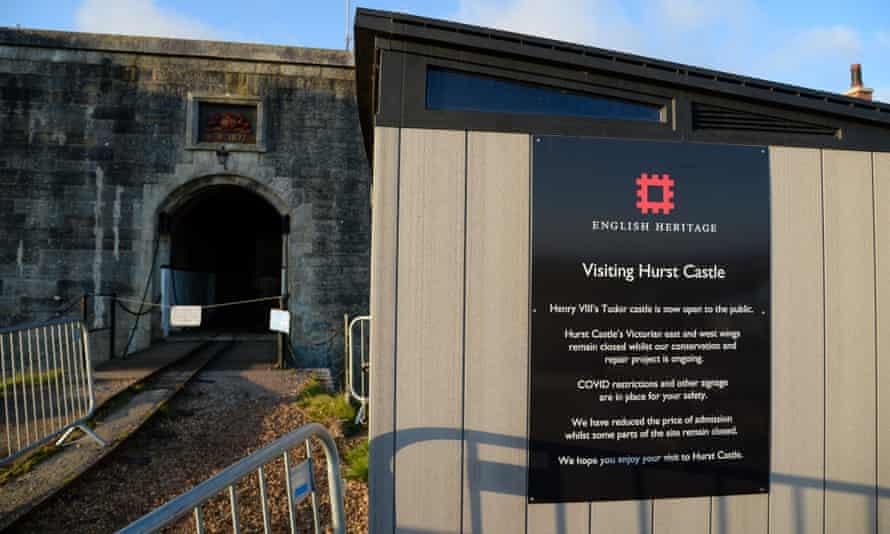 Hurst Castle near Lymington, Hampshire