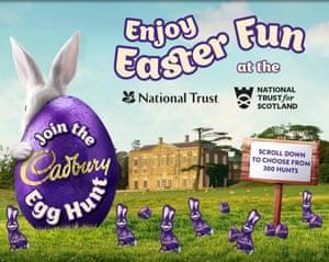 Easter eggs arent even christian so why squabble over them cadbury egg hunt negle Images