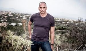 Yanis Varoufakis on Aegina island in Greece in August 2015.