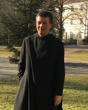 Father Cyrill at St Ottilien