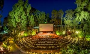 Santorini Kamari cinema