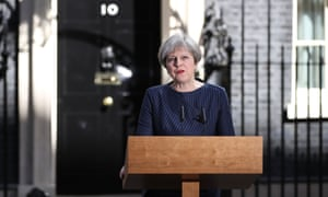 Prime Minister Theresa May makes a statement calling a general election for the United Kingdom to be held on June 8.