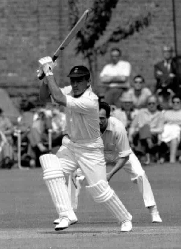 John Edrich playing for Surrey in 1965.