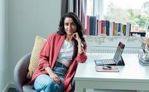 Rajni Ghir in her home office