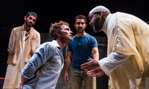 The Invisible Hand at Tricycle theatre, London.