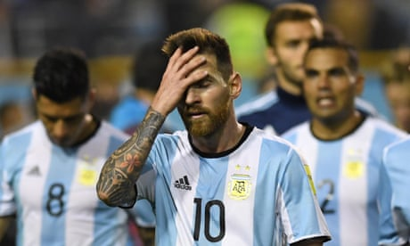 Argentina in danger of missing the 2018 World Cup – video