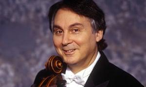 Looking into the distance … cellist Ralph Kirshbaum.
