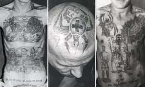 Tattoos of the kind worn by many of the vory in Russia