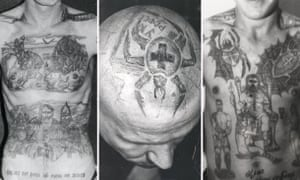 Russian Criminal Tattoos In Pictures World News The Guardian