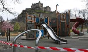 Closed children's park