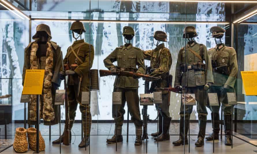Keeping a distinction … the IWM's second world war galleries.
